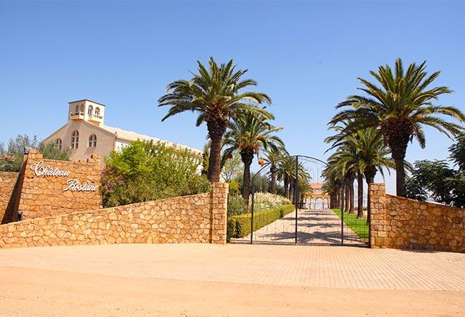 Restructuration cave vinicole Celliers de Meknes exterieur Maitrise d'oeuvre viticole INGEVIN