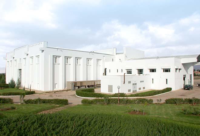 Création cave vinicole cépages de Meknès Groupe Castel Batiment Maroc bureau d'études vinicoles INGEVIN